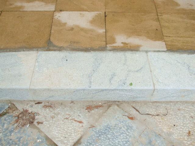 bordi di marciapiede bocciardate